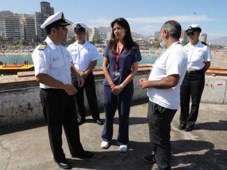 Todo listo para disfrutar del lanzamiento de los fuegos artificiales por el aniversario de Antofagasta