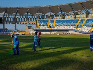 Estadio Calvo y Bascuñán operativo para encuentros deportivos