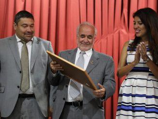 Ángel Lattus Vodanovic es reconocido como Caballero del Ancla 2018