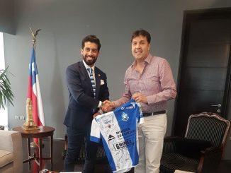 Intendente de Antofagasta recibió saludo protocolar del presidente de CDA