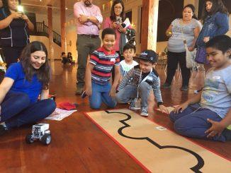 """Los robots legos de ViLTI SeMANN invaden """"Paseo por la ciencia"""""""