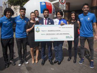 CDA y sanitaria entregaron 200 frazadas a Campaña de Invierno