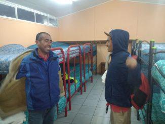 Historias de albergues en frías noches de Calama