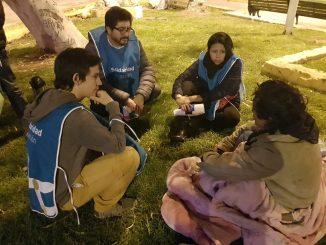Partió ruta solidaria de invierno por las calles de Antofagasta