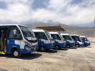 Línea de Taxibuses 119 incorporó 6 máquinas inclusivas