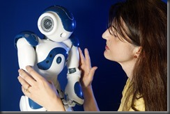 University of Hertfordshire researcher Dr Lola Canamero. Robots with emotions.Photographer Pete stevens