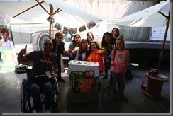 Santiago  05-10-18 Stands Expo Inclusión 2018 en Espacio Riesco    FOTO: VICTOR TABJA