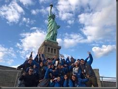 Alumnos en Nueva York