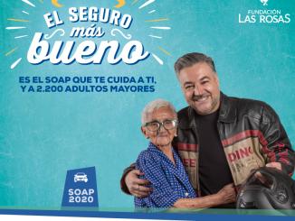 """Compaña """"Seguro Más Bueno"""" de Fundación Las Rosas: contrata el seguro obligatorio 2020 vía web y ayuda a una persona mayor"""