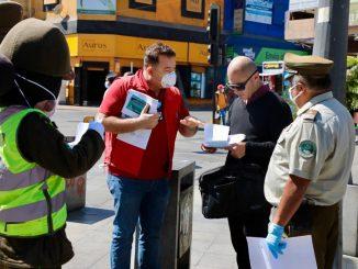 Municipio de Antofagasta fiscalizó espacios públicos para exigir el uso de mascarillas