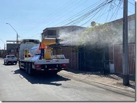 Camión Sanitizador con Cañon Pulverizador (3)