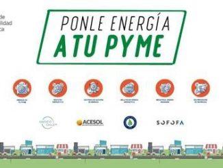 """Programa de apoyo al sector productivo: Ministerio de Energía y AgenciaSE lanzan """"Ponle Energía a tu Pyme"""""""