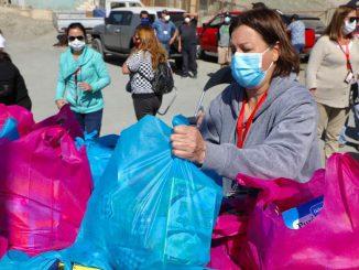 Funcionarios municipales de Antofagasta van en ayuda de las caletas