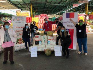 Entregan 1.000 kilos de alimentos a organizaciones sociales de Antofagasta