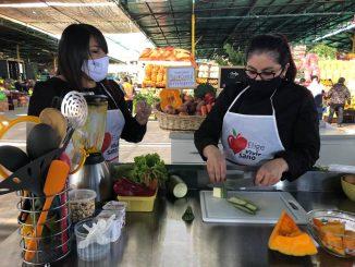 """Elige Vivir Sano y la Vega enseñan a preparar """"menús saludables"""""""