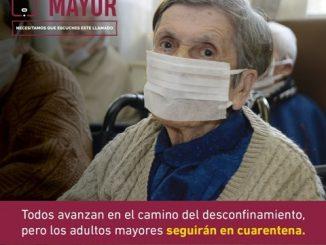 Más de 100 hogares hacen último llamado para proteger a las personas mayores en la pandemia