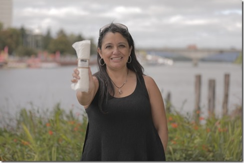 María Loreto Mendoza, Región de Los Ríos, ganadora del último Concurso Nacional Desafío Emprendedor