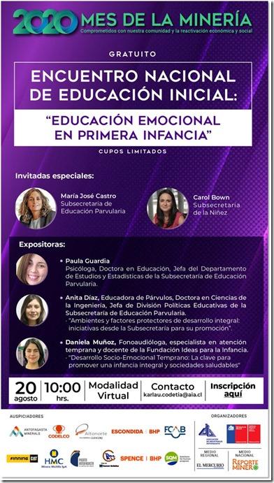 Invitaciòn Encuentro Educaciòn