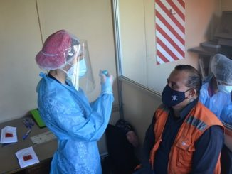 Empresa Portuaria Antofagasta realiza Exámenes PCR Covid-19 para trabajadores, usuarios y colaboradores