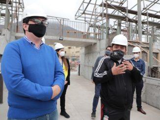 Complejo Deportivo de Los Arenales presenta un 60% de avance