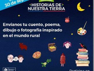 Hasta el 30 de septiembre: Último plazo para participar en concurso Historias de Nuestra Tierra