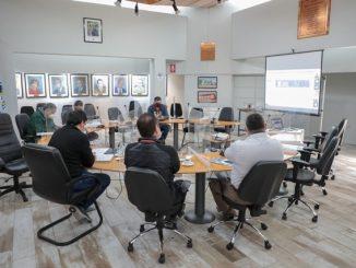 Presentan protocolo sanitario para plebiscito en Consejo Comunal de Seguridad Pública
