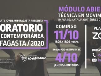 BAJ Invita a participar en nuevo módulo abierto de #LABDanza2020