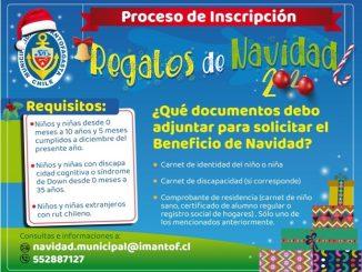 Municipalidad de Antofagasta abrió inscripción de regalos para esta Navidad
