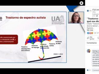 C-TyS UA presentó conferencia sobre el trastorno del espectro autista