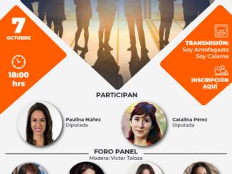 Foro panel con destacada participación femenina abordará los desafíos para la Gobernación Regional de Antofagasta