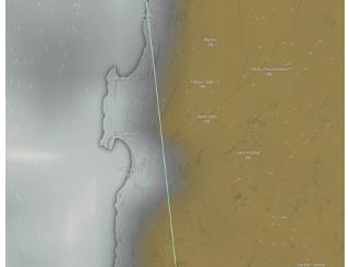 Académico UA explica inusual lluvia ocurrida la madrugada del domingo Antofagasta