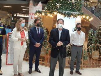 Comercio y ministro Palacios llaman a anticipar las compras de Navidad