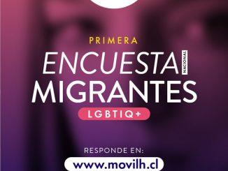Movilh lanza Primera Consulta Nacional sobre la Realidad de Migrantes LGBTI en Chile