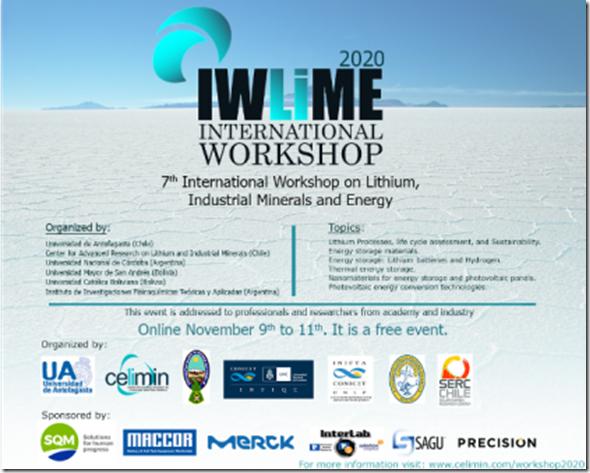 7th IWLIME 2020
