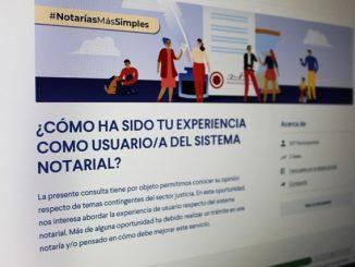 Lanzan encuesta ciudadana en línea para opinar sobre el sistema notarial