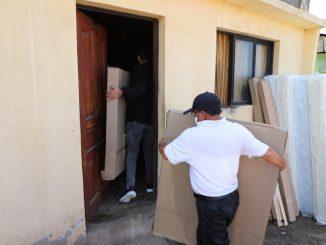 Municipalidad entrega nueva ayuda en caso de 8 hermanos adultos mayores