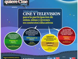 """Ojo de Pescado invita a Ciclo de conferencias: """"Cine y Televisión para la participación de niños, niñas y jóvenes en contextos educativos"""""""