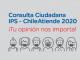 IPS invita a participar de la Consulta Ciudadana 2020