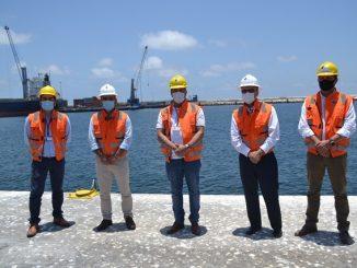 Alcalde de Antofagasta visita las instalaciones de Empresa Portuaria Antofagasta