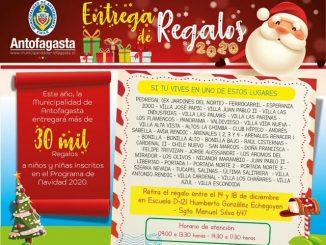Municipalidad habilita seis puntos de retiro de regalos de Navidad