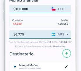 Nuevo servicio de transferencias internacionales: lo nuevo de Transbank y Remitex que permite enviar dinero al extranjero en forma segura y 100% digital