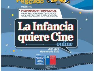 """Comienza el 2° Seminario Internacional """"La Infancia Quiere Cine"""" con máximos expertos en cine para las infancias de Latinoamérica y el mundo"""