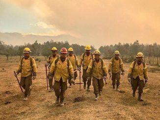 Soldados protegiendo el medioambiente y ayudando a la comunidad Las Brigadas de Refuerzo de Incendios Forestales del Ejército (BRIFEs)