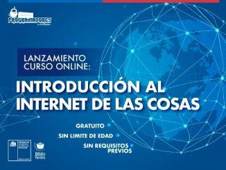 Ministerio de las Culturas lanza curso de Internet de las Cosas