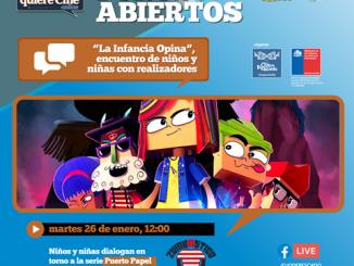 """Niños y niñas de Chile y América se encontrarán con los creadores de sus series favoritas en foro """"La Infancia opina"""""""