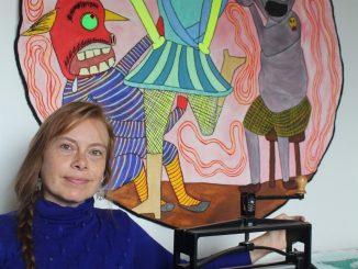 """Paula Sayago Lundin, artista seleccionada en la Convocatoria Artes Visuales 2020 """"Busco generar contenidos que hablen de libertad y permanencia"""""""