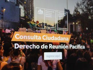 Subsecretaría de Derechos Humanos lanza consulta ciudadana online sobre Derecho de Reunión Pacífica