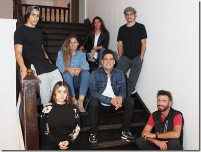 Elenco de la compañía Fundación Arte en  el Desierto