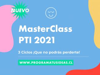 Programa Tus Ideas 2021: Masterclass que potencian el aprendizaje integral