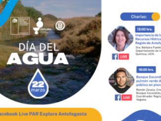Explora Región de Antofagasta invita a conmemorar el Día Mundial del Agua generando conciencia sobre los recursos hídricos
